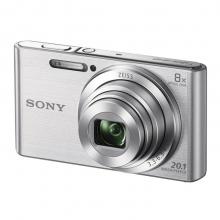 索尼(SONY)数码相机 卡片机 办公/家用便携照相机 DSC-W830银色 套餐一